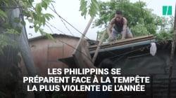 Les Philippins se préparent à l'arrivée du super typhon