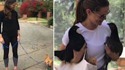 Jennifer Garner Has A Pet Chicken Named After A 'Mean Girls' Character She Walks On A