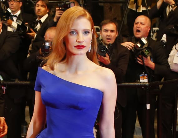 Weinstein bulled Chastain over dress