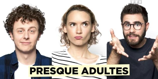 Les trois YouTubeurs jouent leur propre rôle dans cette mini-série de 10 épisodes.