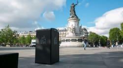 Paris teste ses premières poubelles à énergie solaire qui ne débordent