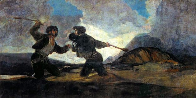 'Duelo a garrotazos' (Goya), un referente icónico de las 'dos Españas'.