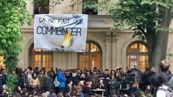 L'Ecole Normale Supérieure de Paris fermée, après l'occupation des étudiants dans la