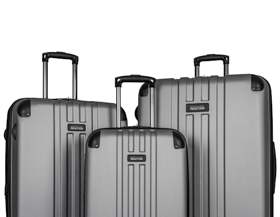 Shop a Kenneth Cole luggage set for 77 percent off