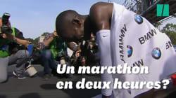 Un marathon en deux heures? Pas avant 2032, selon cette