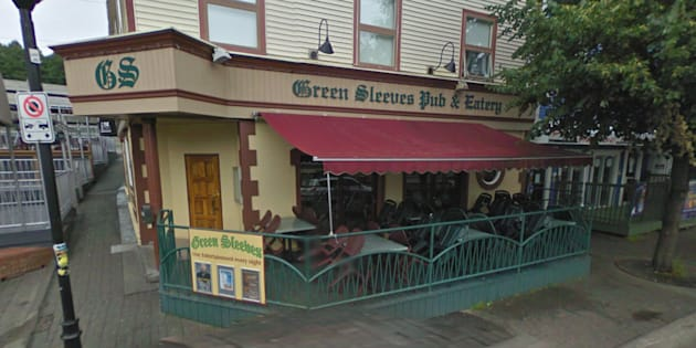 The altercation began outside Green Sleeves, an Irish Pub in St. John's.