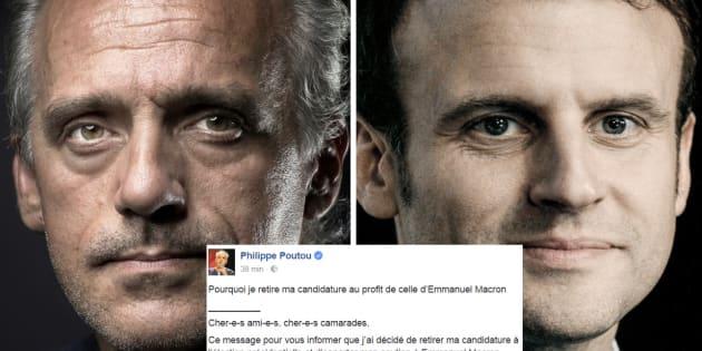 En ce jour de poissons d'avril, Poutou a annoncé son (faux) ralliement à Macron.