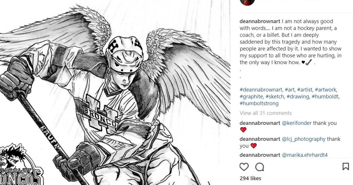Humboldt Broncos Art Reveals Deep Impact The Crash Has On Canadians
