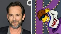 ▶ Luke Perry Was Once A Simpsons Character, Which Obviously