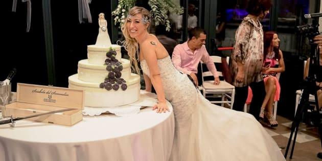 Cette Italienne s'épouse elle-même