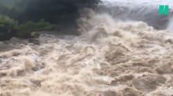 Les images d'Hawaï inondé par les pluies torrentielles de l'ouragan