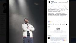 Médine sur son concert au Bataclan: