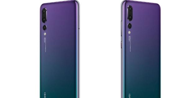 Dégradé, 3 objectifs: toutes les rumeurs sur le Huawei P20