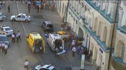 Un taxi renverse plusieurs personnes à Moscou, 7