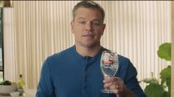 Matt Damon en vedette d'une pub du Super Bowl 2018 pour Stella