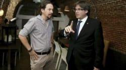 Iglesias medió con Puigdemont para intentar sacar adelante las