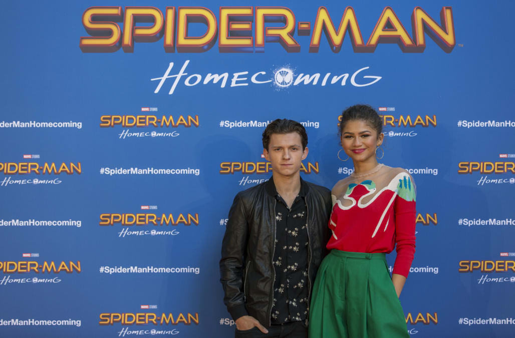 Are the spider man actors dating