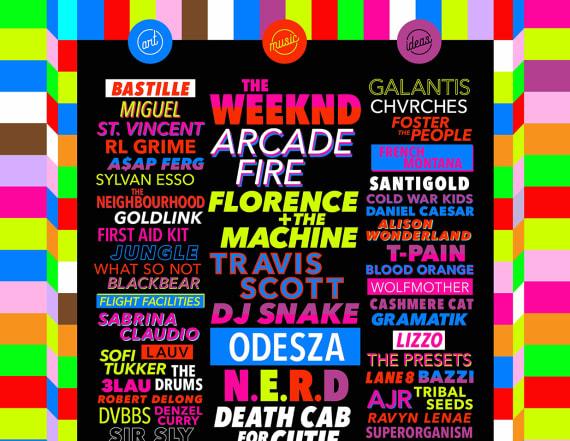 Vegas festival reveals lineup to rival Coachella