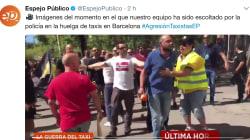 Varios taxistas de Barcelona atacan a un periodista de 'Espejo