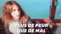 Fanny Agostini dévoile la vidéo de son accident de