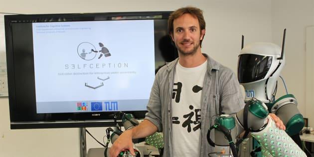 Pablo Lanillos, de la Asociación de Científicos en Alemania (CERFA).