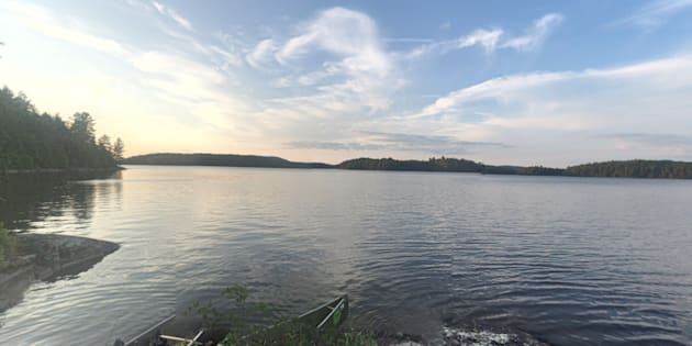 Big Trout Lake in Algonquin Park.