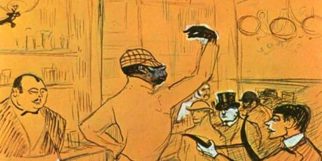 Cartel de Toulouse Lautrec.