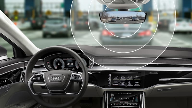 2019 Audi E-Tron to get toll-payment transponder in rearview mirror