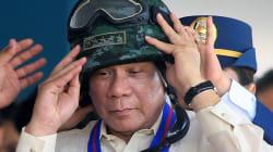 L'ultima minaccia di Duterte: