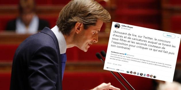 """""""Sous-fifres"""" contre """"sous-sous-ministres"""", violente passe d'armes entre anciens collègues LR sur Twitter"""