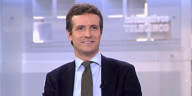 Pablo Casado en Telecinco.