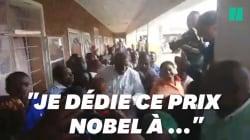 La clinique du Dr Mukwege lui a fait un accueil triomphal après son prix Nobel de la
