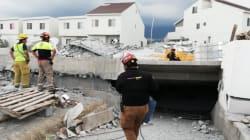 VIDEO: Suman 8 muertos por derrumbe en