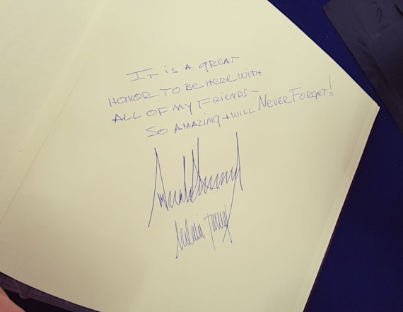 Trump's note at Yad Vashem less than moving for some