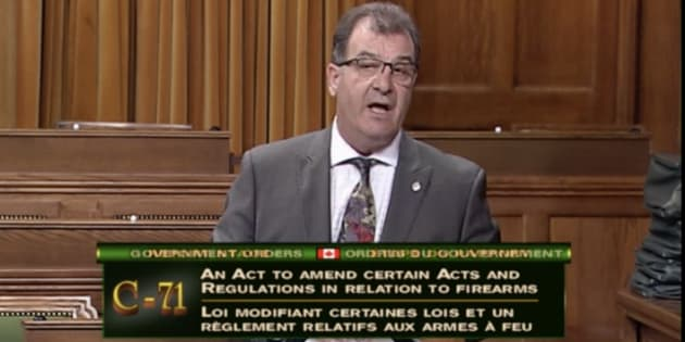 Liberal MP Bob Nault speaks in the House of Commons on June 18, 2018.
