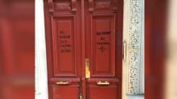Des inscriptions antisémites sur une porte à Paris provoquent l'écœurement des