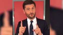 Christophe Beaugrand cite les messages homophobes qu'il