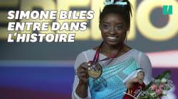 La gymnaste Simone Biles, voix forte de #MeToo, entre dans