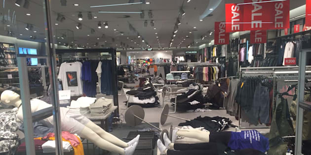 South Africa party storms H&M stores over monkey shirt ad