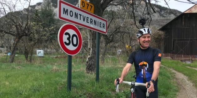 L'ancien maillot jaune Charly Mottet a filmé la descente de la route sinueuse de Montvernier à 360°.