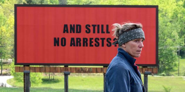"""Que vaut """"Three Billboards"""", le film sorti grand gagnant des Golden Globes?"""