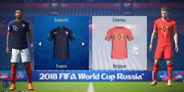 France-Belgique à la Coupe du monde 2018: l'intelligence artificielle de Fifa 18 donne un avantage aux Bleus.