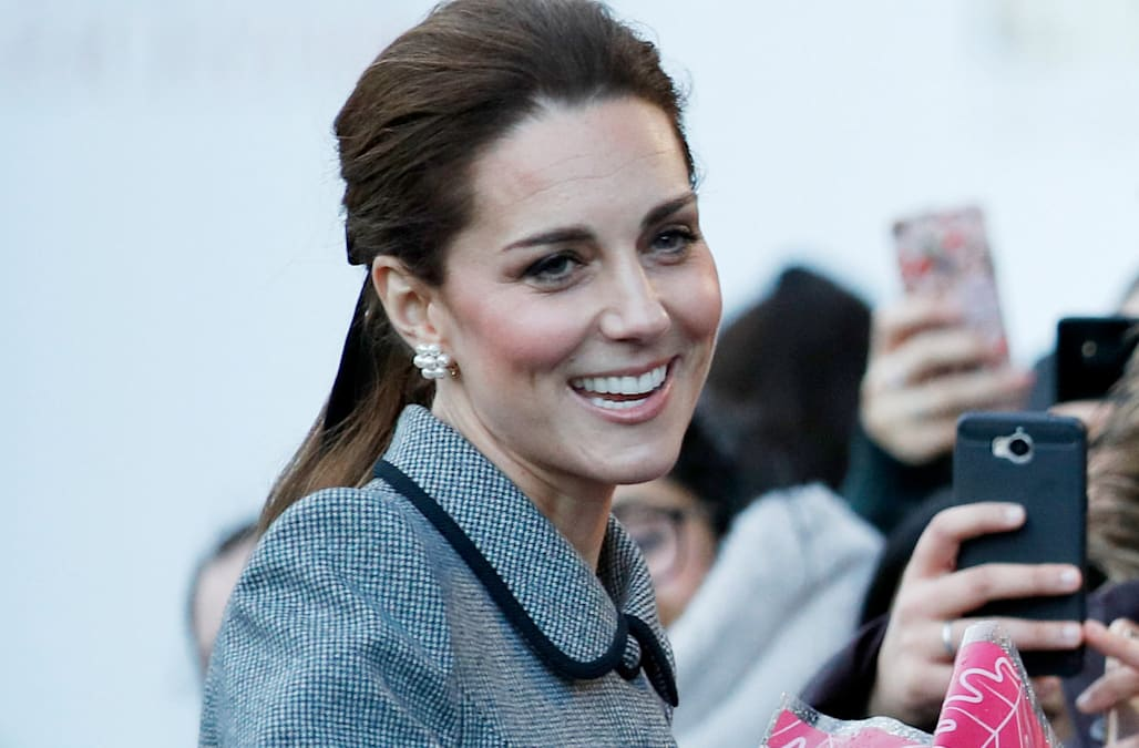 1dda5fb16e25 Kate Middleton gushes about Meghan Markle s pregnancy amid rumors of   tension  between them