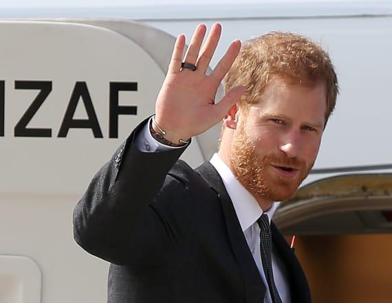 Prince Harry shocks passengers on commercial flight