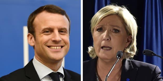 Macron passe devant Le Pen au 1er tour pour la première fois