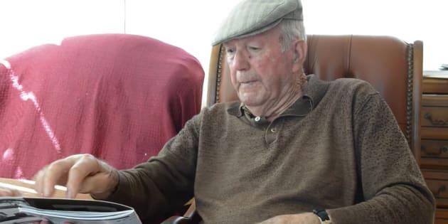 Francisco Griéguez, en una imagen del documental 'Sueño con Mauthausen', en el que narraba su experiencia.