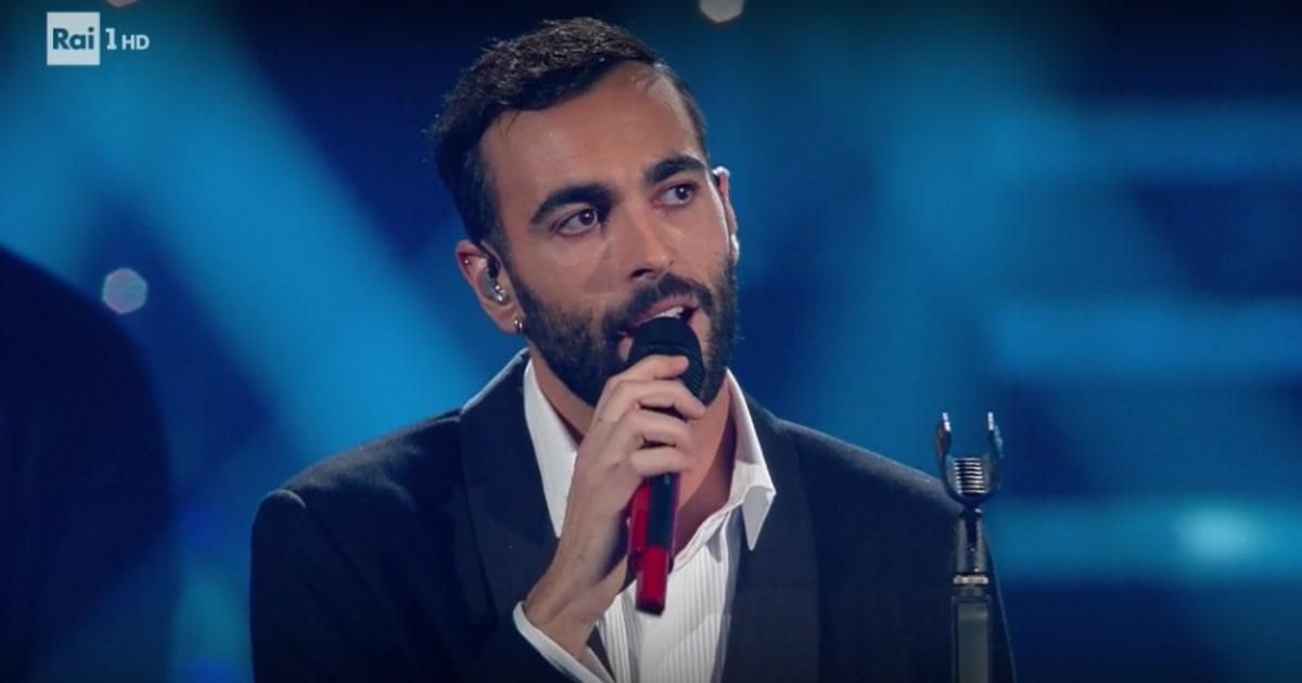 """Sanremo 2019, Marco Mengoni ospite: """"La sua voce è patrimonio dell'umanità"""""""