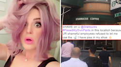 No, Starbucks Probably Didn't Force Kelly Osbourne To Wee In Her