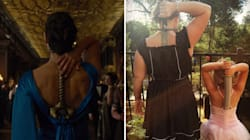 Women Are Storing Swords Down Their Backs For An Excellent