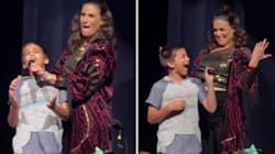 This Boy's Performance Of 'Let It Go' Surprised Idina Menzel So Much She Made Him Do It